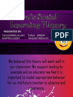 Bandura Social Learning Theory Presentation