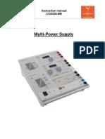 Instruction Manual CO3538-8M