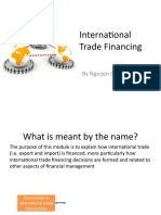 0.1. Introduction to International Trade Financing