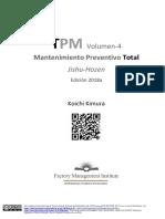 Total Preventive (Productive) Maintenance. Vol-4. Español