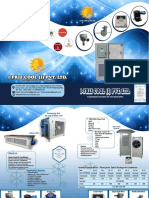 Catalog of Flameproof Air Conditioner