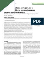 Artigo 2 - Modern Sequencing Technologies and Entomology New Perspectives