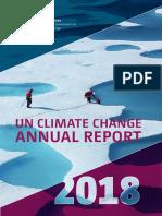 UN Climate Change Annual Report 2018