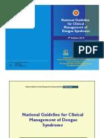 Dengue guidelines 2018