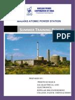 Madras Atomic Power Station Summer Train