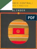 El Banco Central Teoría y practica Blinder (libro completo)