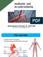 Acute Limb Ischemia and Claudication Unisba 2017