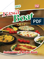 Pasta Boat Recipe eBook
