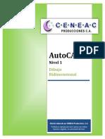 AutoCAD Manual N1 DibujoBidimensional VerOctubre2017