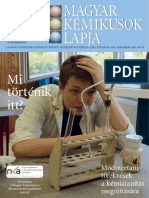 Magyar Kémikusok Lapja 2016. november