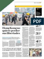 Hong Kong No Quiere Perder Sus Libertades