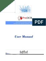 PreDCR Do and Dont