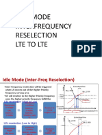 L2L INTERFREQUENCY RESELECTION