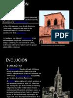Evolucion Catedral de Oviedo