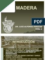 Tema 4 La Madera