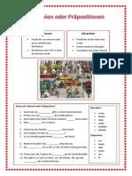 Adverbien Oder Prapositionen Arbeitsblatter Grammatikerklarungen Luckentexte 31158 (1)