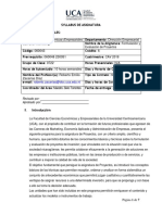 Syllabus Roberto Zacarías FEP