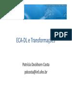 ECA DL Transformacoes