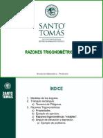 PPT Razones trigonométricas