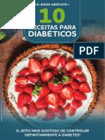 E-book 10 Receitas Para Diabeticos