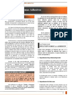 Adhesion y Sistemas Adhesivos