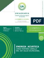 Energia Acustica - Ruido Ocupacional