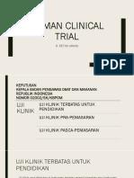 Human Clinical Trial