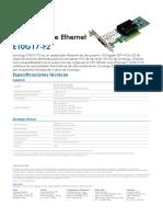 Synology E10G17-F2 Data Sheet Esn