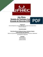 Modelo Naciones Unidas UFHEC