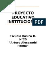Parinspei20091029proyecto Educativo Institucional (1)