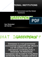Greenpeace Ppt