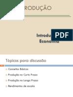 Economia - Aulas 8 e 9 - Produção - 2016