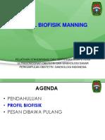 POGI, USG, 2014, Yogya, Profil Biofisik Manning