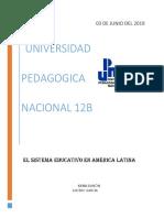 El Sistema Educativo en América Latina