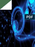 Swirly Neon Space - Desktop Background