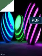 Neon Balls - Close Up - Desktop Background
