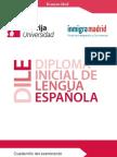 Español para inmigrantes.EXAMEN DILE.