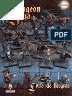 Dungeon Saga Manual de Regras Em Portugues