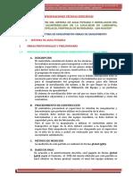 4.1.-Especificaciones Técnicas Específicas