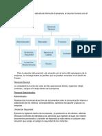 Estructura Interna Tocani