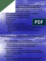 Proteomics genomics