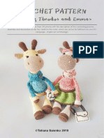 Giraffes Theodor and Emma by Tatiana Saienko