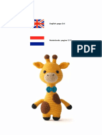 James the Giraffe English Dutch