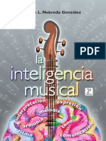 libro LA INTELIGENCIA  MUSICAL