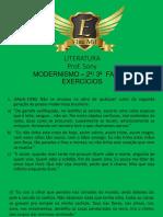 Plataforma Elite Mil Modernismo 2 Fase Exercicios