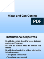 1 - Water and Gas Coning-AHE