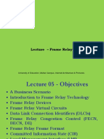 Lecture 5 & 6 FrameRelay