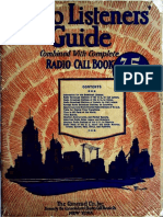 Radio Listeners Guide 1925 Vol I