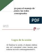 12A_N04I_Las Redes Conceptuales 2019-Marzo