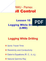 10. Logging While Drilling